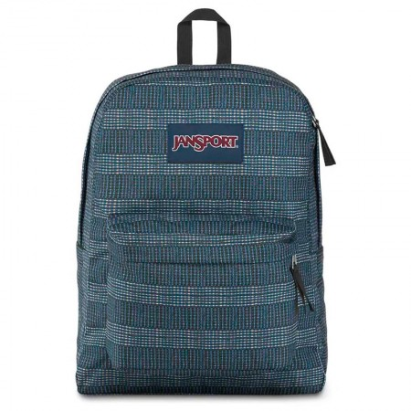 Mochila escolar Superbreak Woven Stripes unissex - T5015U3 - Jansport