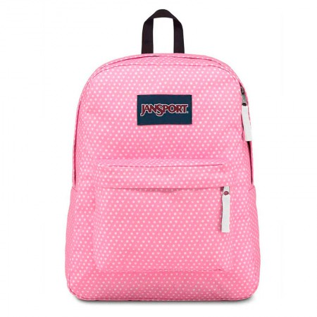 Mochila escolar Superbreak Prism Pink Icons - T5015U0 - Jansport