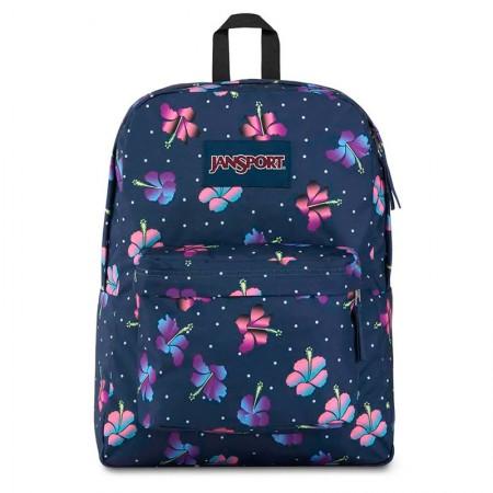 Mochila escolar Superbreak Gradient Hibiscus - T5015Q4 - Jansport