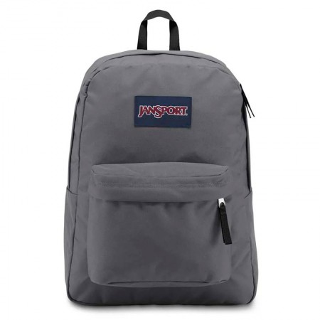 Mochila escolar Superbreak Deep Grey unissex - T5015L8 - Jansport