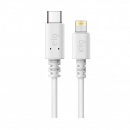 Cabo de sincronização/recarga USB Tipo-C lightning 1M - TCL10 - Branco - Elg