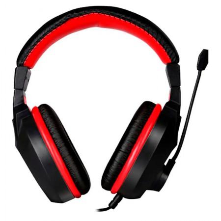Headset P2 Gamer Exodus extreme confort vermelho - HGEX - Elg