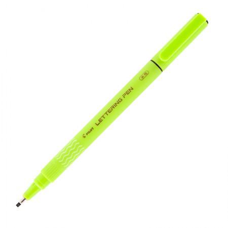 Caneta hidrográfica Lettering Pen preta - com 3 unidades - Pilot