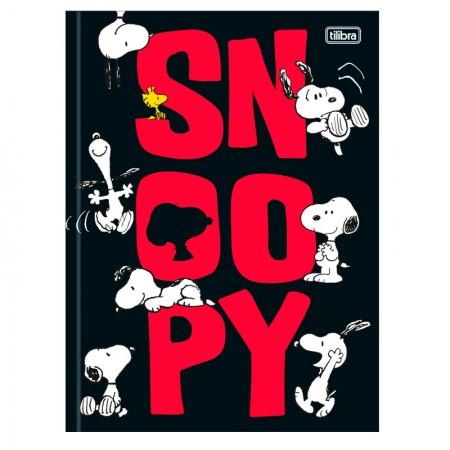 Caderno brochurão capa dura universitário 1x1 - 80 folhas - Snoopy - Capa 2 - Tilibra
