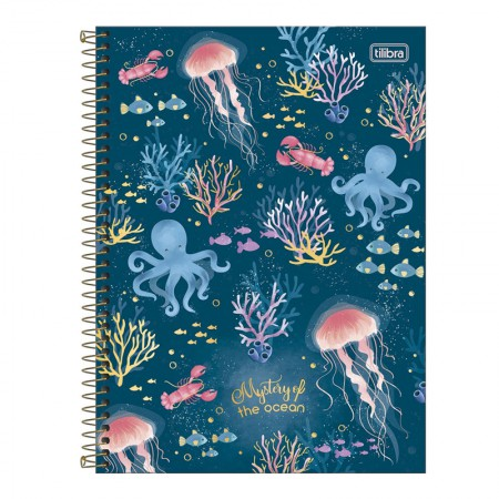 Caderno espiral capa dura universitário 10x1 - 160 folhas - Bubble - Capa 2 - Tilibra