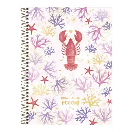 Caderno espiral capa dura universitário 10x1 - 160 folhas - Bubble - Capa 4 - Tilibra