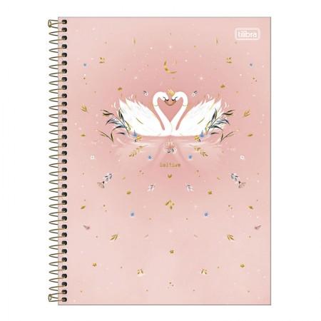 Caderno espiral capa dura universitário 1x1 - 80 folhas - Royal Cisne - Capa 3 - Tilibra