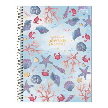 Caderno espiral capa dura universitário 1x1 - 80 folhas - Bubble - Capa 3 - Tilibra