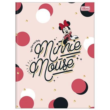Caderno brochurão capa dura universitário 1x1 - 80 folhas - Minnie - Capa 2 - Tilibra