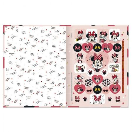 Caderno brochurão capa dura universitário 1x1 - 80 folhas - Minnie - Capa 4 - Tilibra