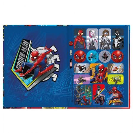 Caderno brochurão capa dura universitário 1x1 - 80 folhas - Homem Aranha - Capa 2 - Tilibra