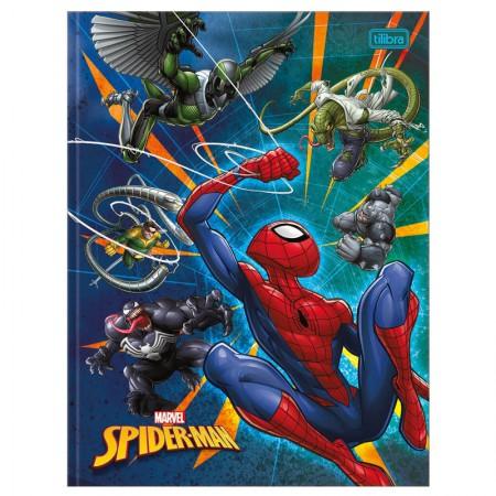 Caderno brochurão capa dura universitário 1x1 - 80 folhas - Homem Aranha - Capa 3 - Tilibra