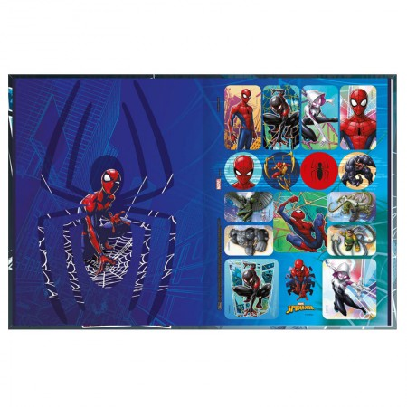 Caderno brochurão capa dura universitário 1x1 - 80 folhas - Homem Aranha - Capa 4 - Tilibra
