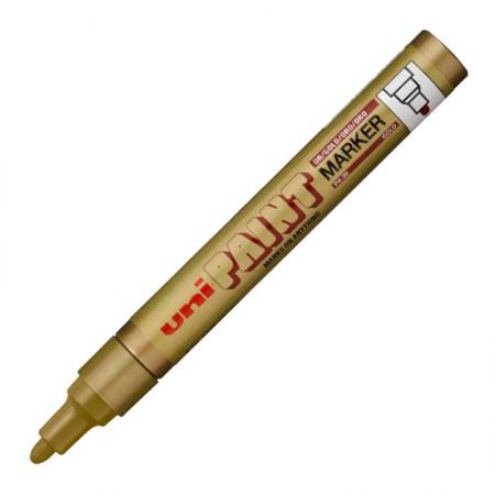 Pincel marcador permanente ouro - PX-20 - Uni-Paint