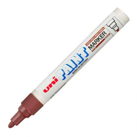 Pincel marcador permanente marrom - PX-20 - Uni-Paint