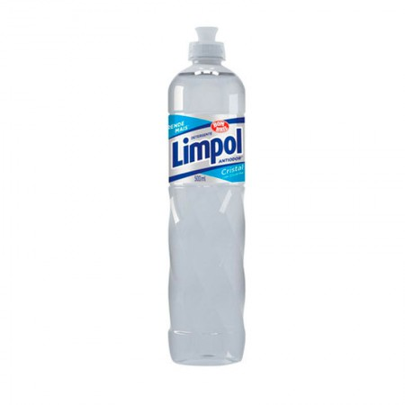 Detergente liquido Limpol cristal 500ml - Bombril