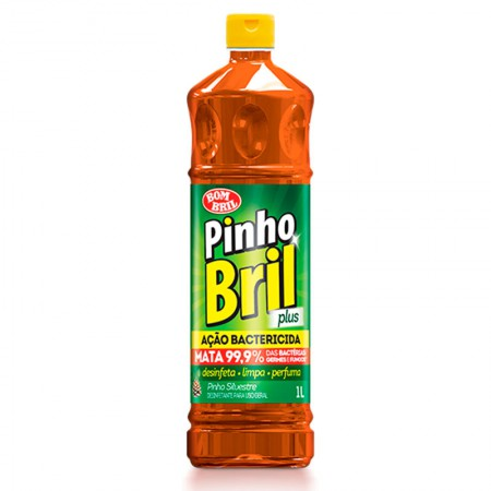 Desinfetante Pinho Bril silvestre 1 litro - Bombril