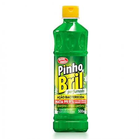 Desinfetante Pinho Bril flores de limão 500ml - Bombril