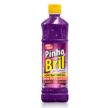 Desinfetante Pinho Bril campos de lavanda 500ml - Bombril