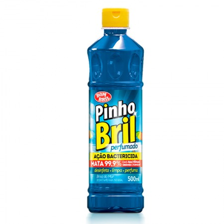 Desinfetante Pinho Bril brisa do mar 500ml - Bombril