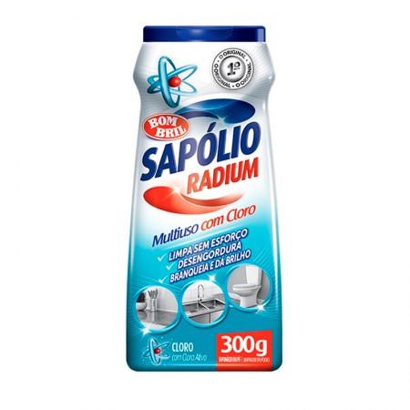 Sapólio Radium pó cloro 300g - Bombril