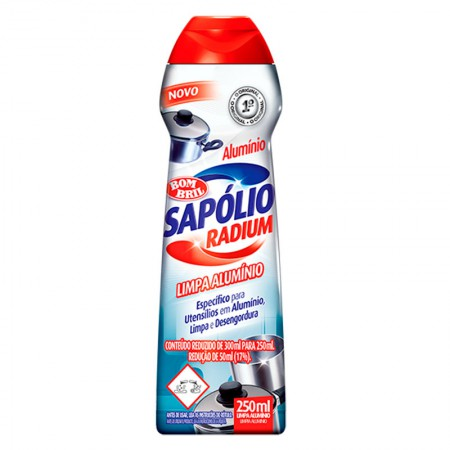 Sapólio Radium limpa alumínio 250ml - Bombril
