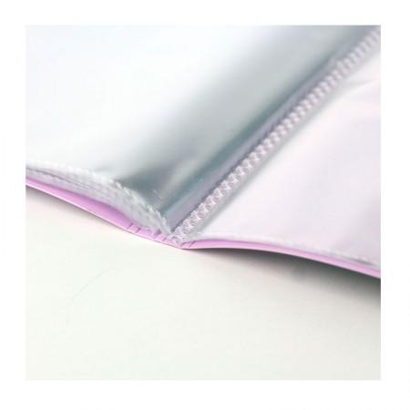 Pasta catálogo - lilás pastel - BD20ABC/LL - com 20 plásticos - Yes