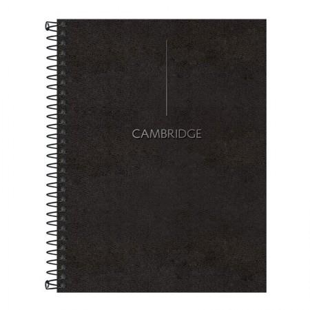 Caderno colegial capa dura executivo - 80 folhas - Cambridge - Tilibra