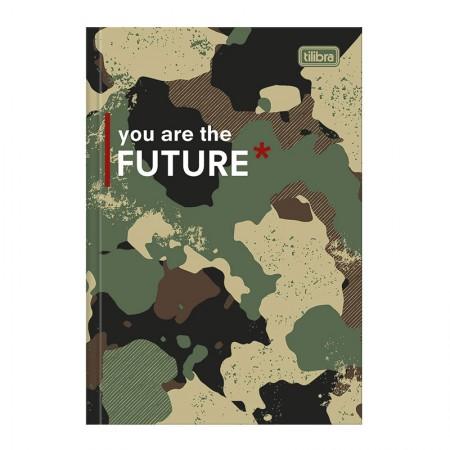 Caderno brochurão capa dura universitário 1x1 - 80 folhas - Hide - Capa 1 - Tilibra