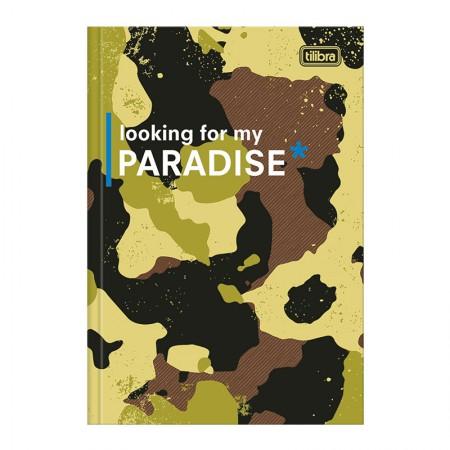 Caderno brochurão capa dura universitário 1x1 - 80 folhas - Hide - Capa 3 - Tilibra
