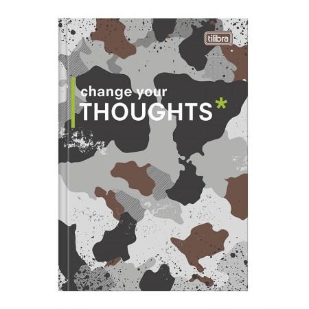 Caderno brochurão capa dura universitário 1x1 - 80 folhas - Hide - Capa 4 - Tilibra