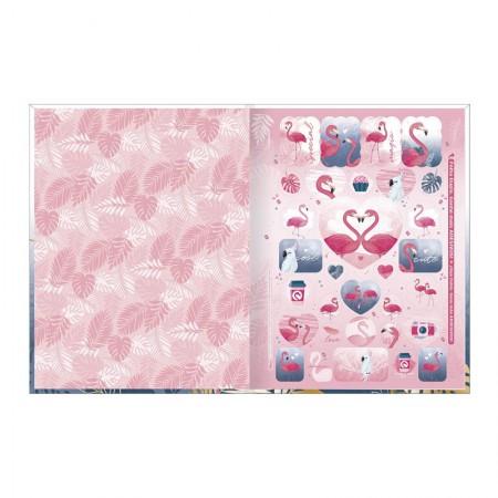 Caderno brochurão capa dura universitário 1x1 - 80 folhas - Aloha - Capa 4 - Tilibra