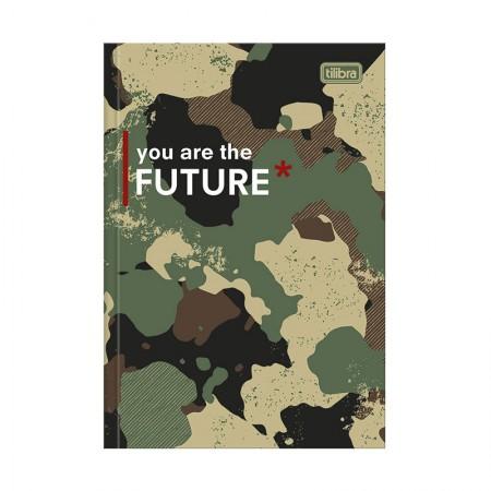 Caderno brochura capa dura 1/4 - 80 folhas - Hide - Capa 1 - Tilibra