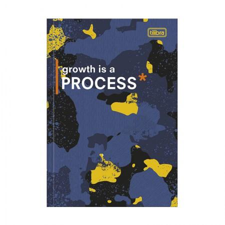 Caderno brochura capa dura 1/4 - 80 folhas - Hide - Capa 2 - Tilibra