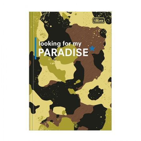 Caderno brochura capa dura 1/4 - 80 folhas - Hide - Capa 3 - Tilibra