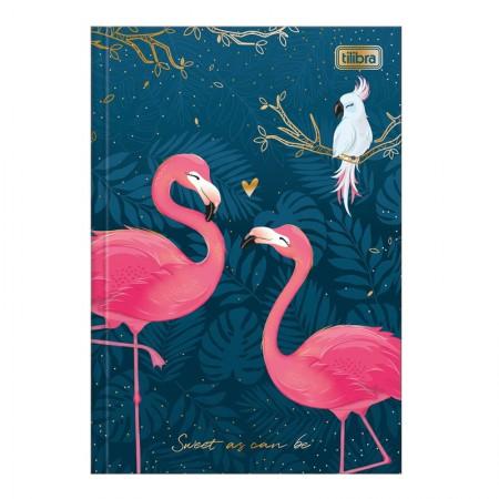 Caderno brochura capa dura 1/4 - 80 folhas - Aloha - Capa 2 - Tilibra