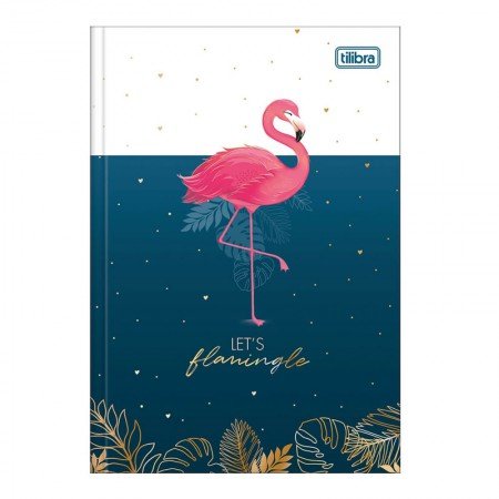 Caderno brochura capa dura 1/4 - 80 folhas - Aloha - Capa 3 - Tilibra