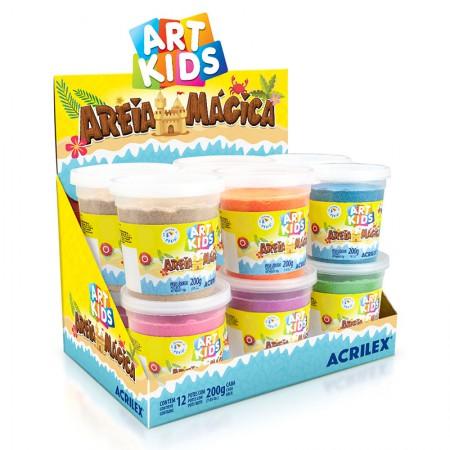 Areía mágica Art Kids 200g - unidade - Acrilex