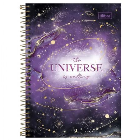 Caderno espiral capa dura 1/4 - 80 folhas - Magic - Capa 3 - Tilibra