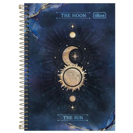 Caderno espiral capa dura 1/4 - 80 folhas - Magic - Capa 4 - Tilibra
