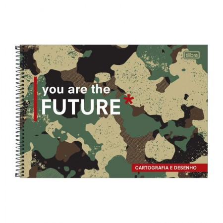 Caderno espiral capa dura cartografia - 80 folhas - Hide - Capa 1 - Tilibra