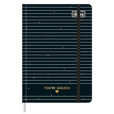 Caderneta capa dura 1/8 Fitto West Village - pontilhado - 80 folhas - Bolinha - Tilibra