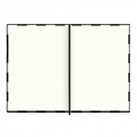 Caderneta capa dura 1/8 Fitto West Village - pontilhado - 80 folhas - Coração - Tilibra