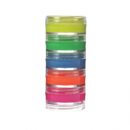 Tinta cremosa facial fluor com 5 cores - Colormake