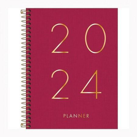 Agenda planner espiral Lume 2021 - Verde Musgo - Tilibra