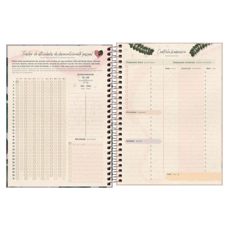 Agenda planner espiral semanal Naturalis 2021 - Capa 4 - Tilibra