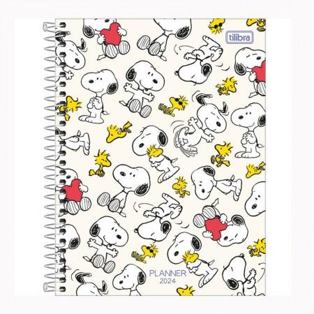 Agenda planner espiral Snoopy 2021 - Capa 1 - Tilibra