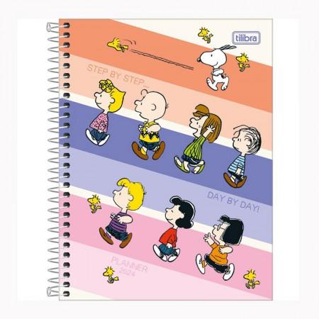 Agenda planner espiral Snoopy 2021 - Capa 2 - Tilibra