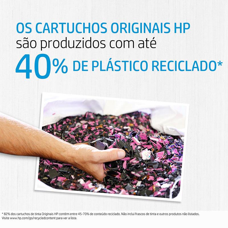 Garrafa de tinta HP (GT53) refil 1VV22AL - Preto 90ML
