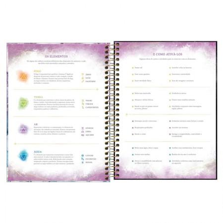 Agenda planner espiral semanal Magic 2022 - Capa 1 - Tilibra